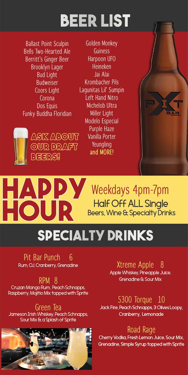 Beer & Drink Specials